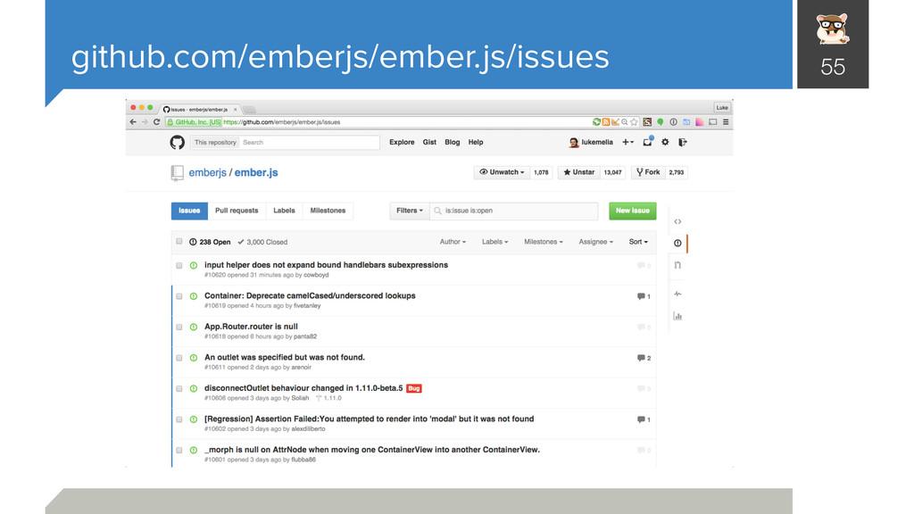 github.com/emberjs/ember.js/issues 55