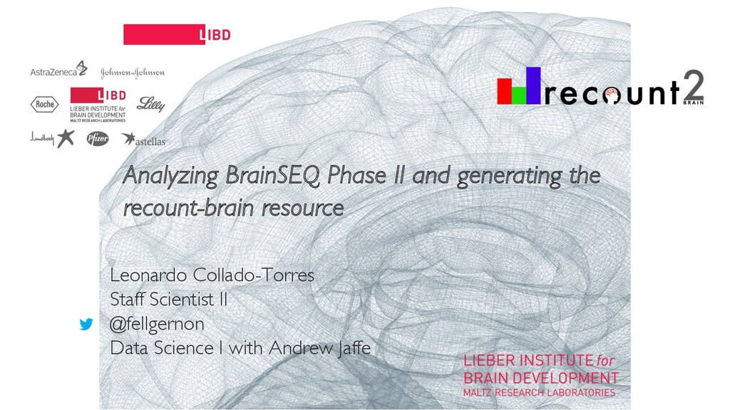 11 Analyzing BrainSEQ Phase II and generating t...