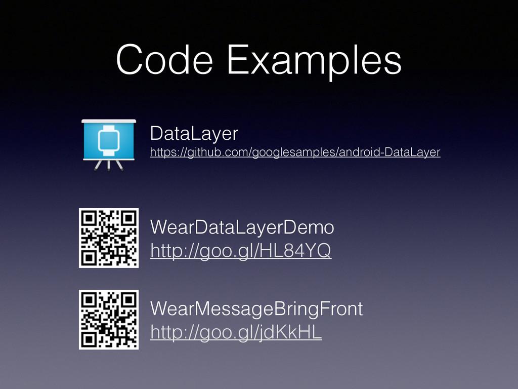 Code Examples WearMessageBringFront http://goo...