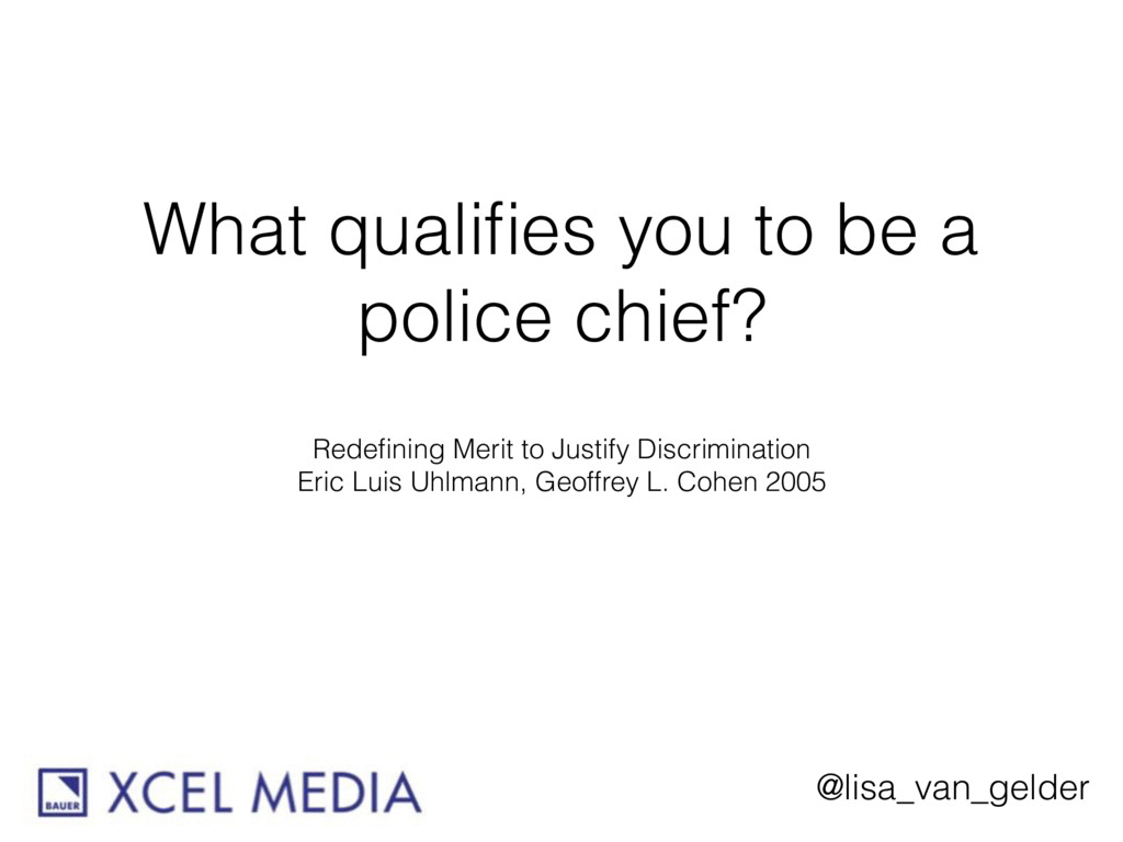 @lisa_van_gelder What qualifies you to be a poli...