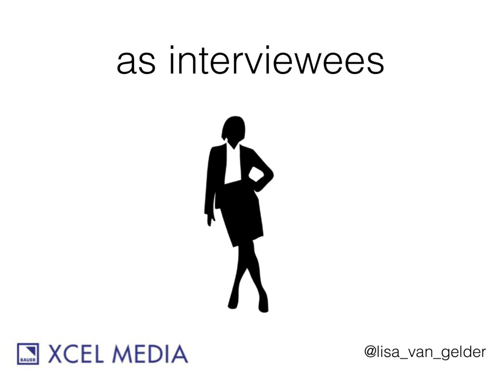 @lisa_van_gelder as interviewees