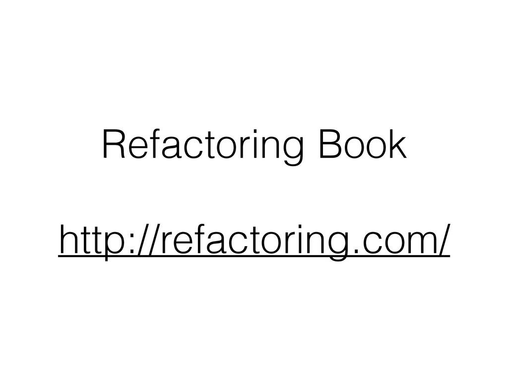 Refactoring Book ! http://refactoring.com/