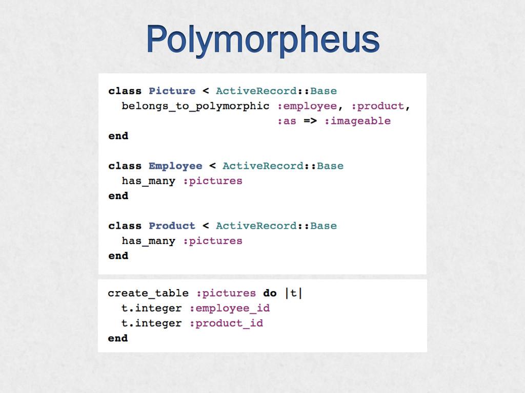 Polymorpheus