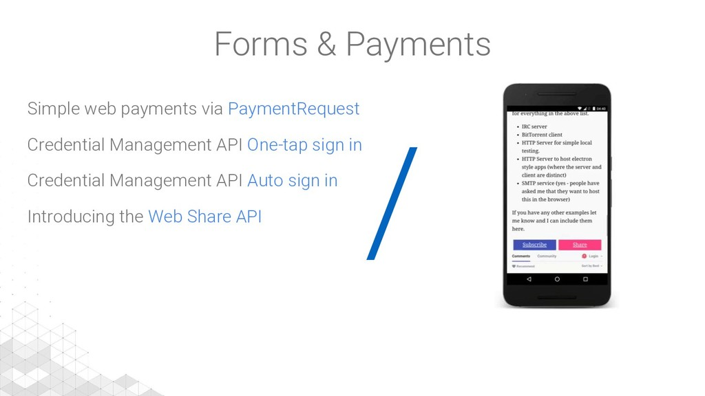 / Simple web payments via PaymentRequest Creden...