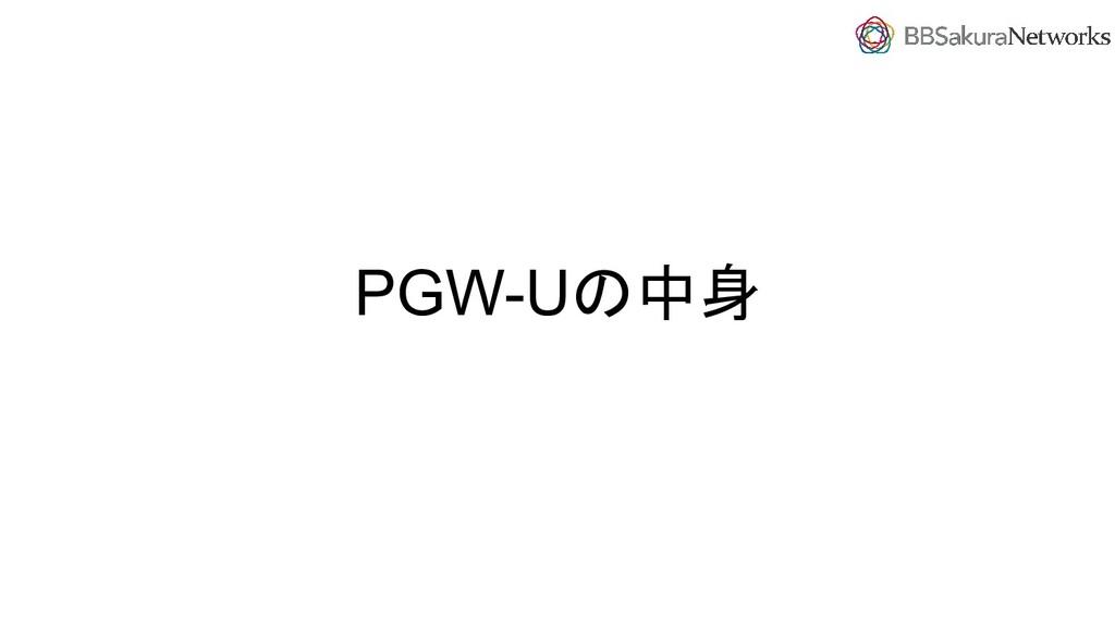 PGW-Uの中身