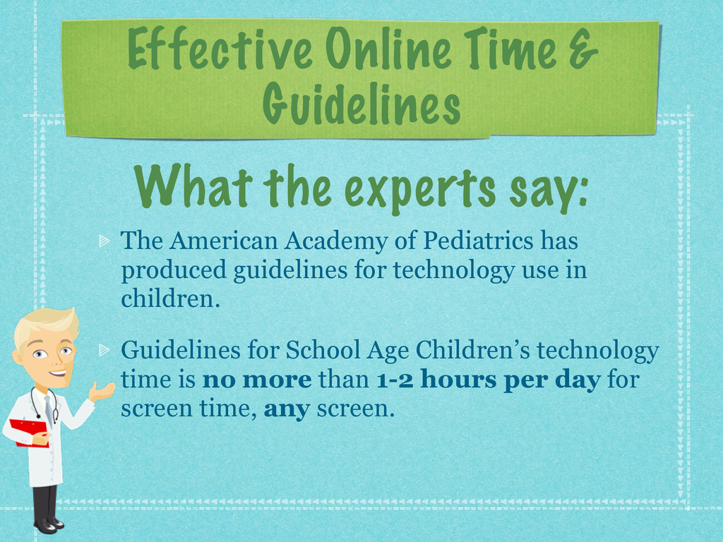 Effective Online Time & Guidelines The American...