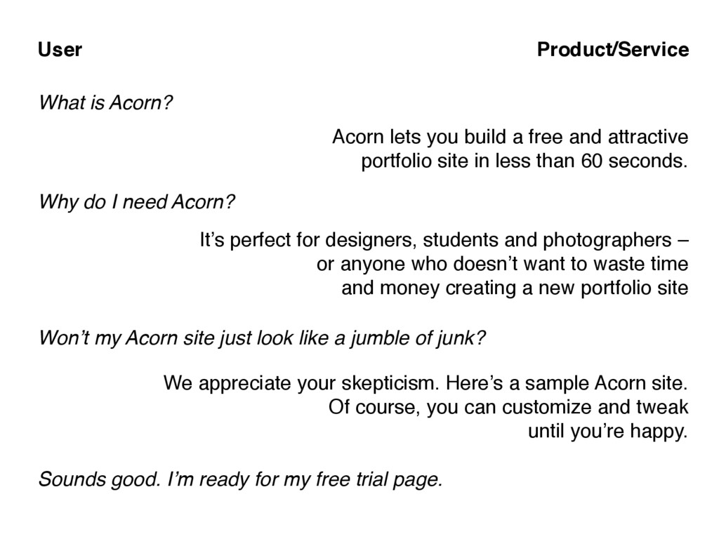 What is Acorn? Acorn lets you build a free and ...