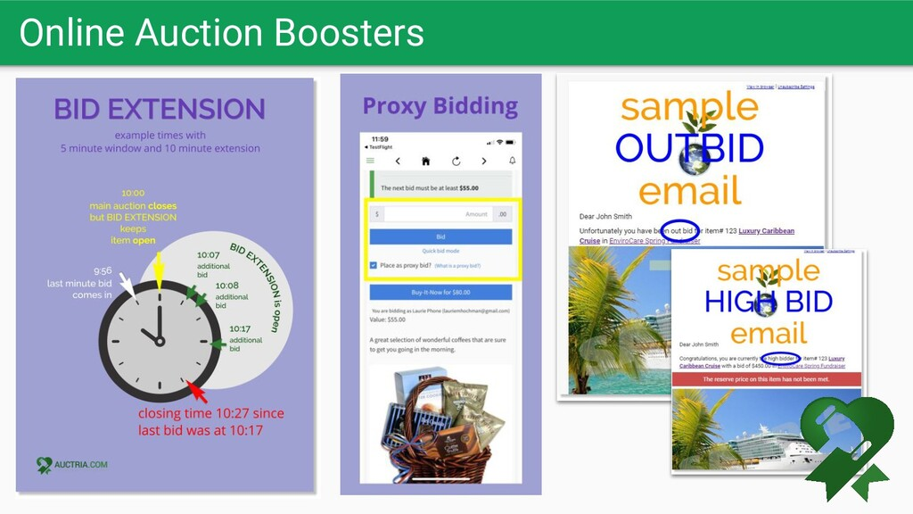 Online Auction Boosters