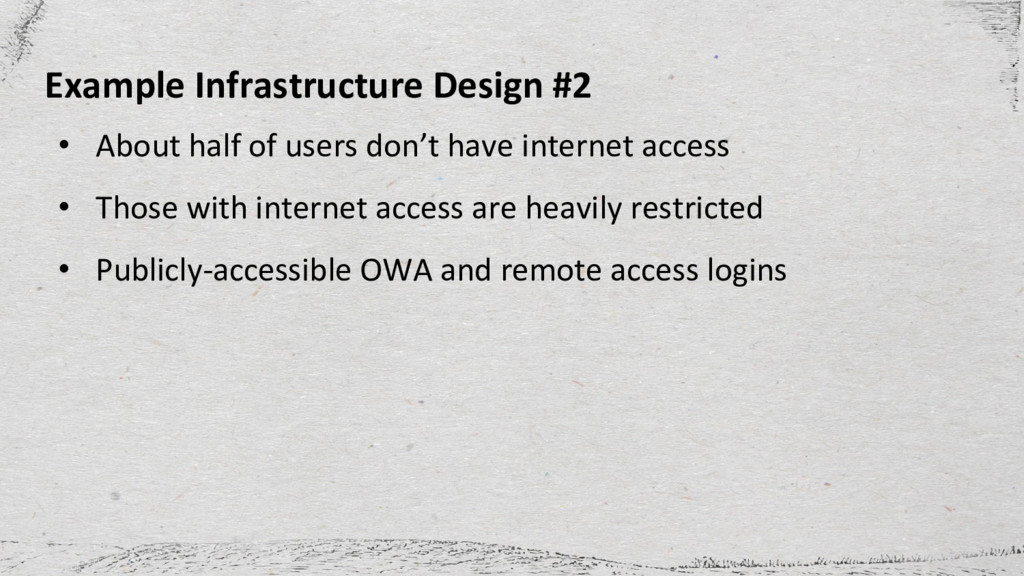• About half of users don't have internet acces...