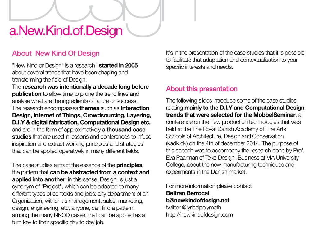 Design a.New.Kind.of.Design 01. interaction des...