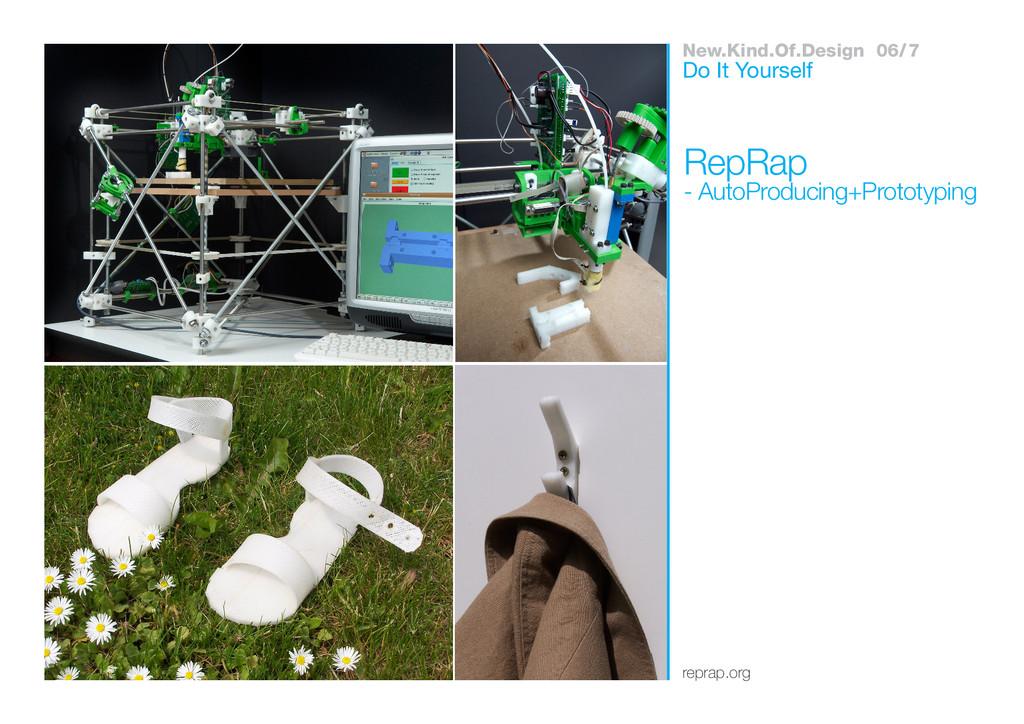 New.Kind.Of.Design 06/7 reprap.org RepRap - Aut...