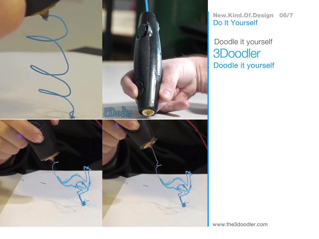 www.the3doodler.com Doodle it yourself 3Doodler...
