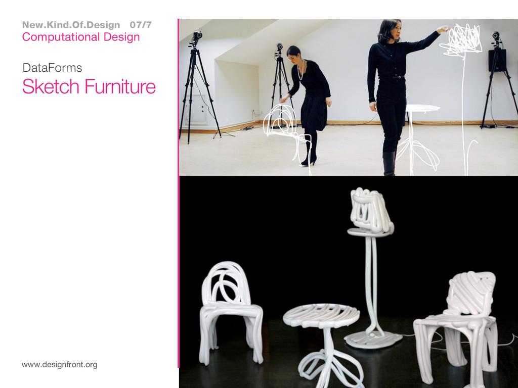 DataForms www.designfront.org Sketch Furniture ...