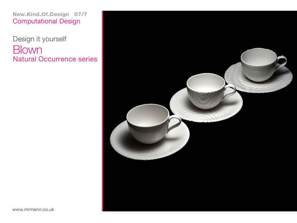 Design it yourself www.mrmann.co.uk Blown Compu...