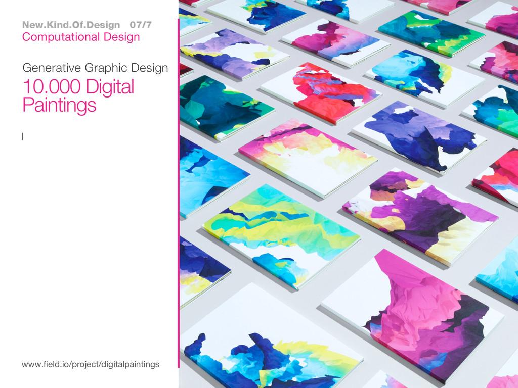 I Generative Graphic Design www.field.io/projec...