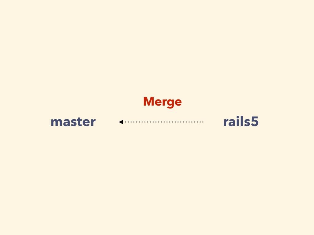 master rails5 Merge