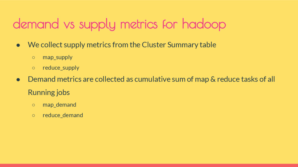 ● We collect supply metrics from the Cluster Su...