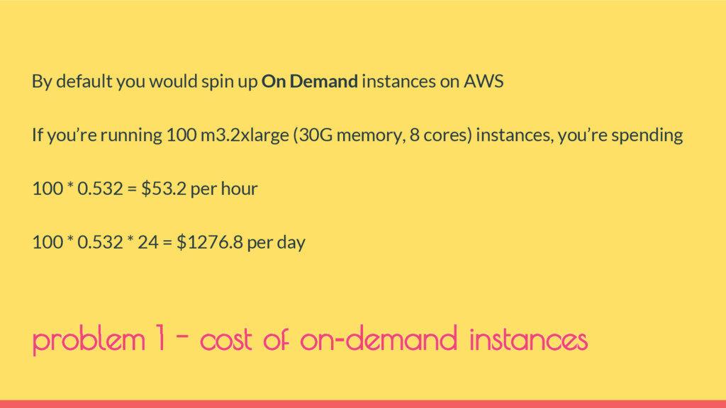 By default you would spin up On Demand instance...