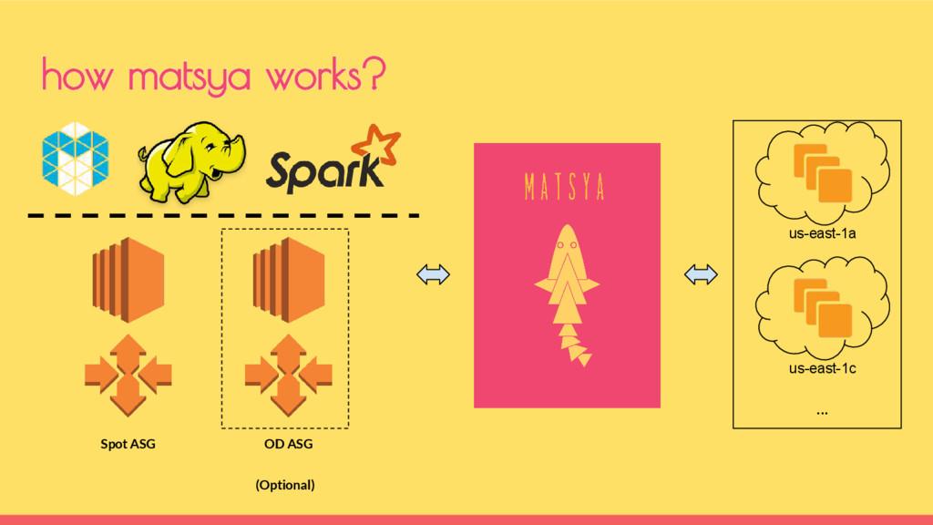 how matsya works? OD ASG us-east-1a us-east-1c ...