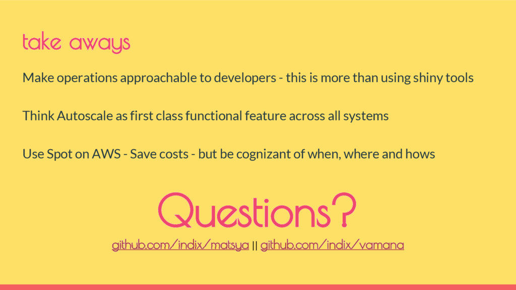Make operations approachable to developers - th...