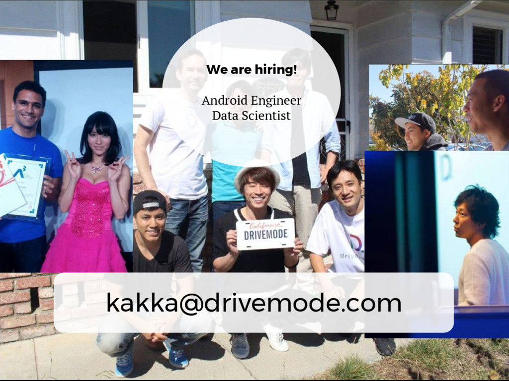 We are hiring! Android Engineer Data Scientist ...
