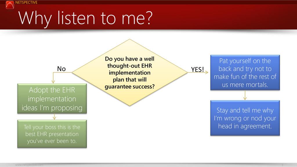 NETSPECTIVE www.netspective.com 3 Why listen to...