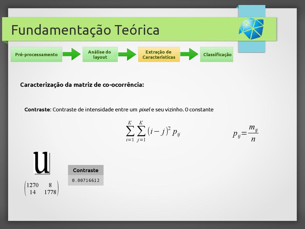 Fundamentação Teórica Contraste: Contraste de i...