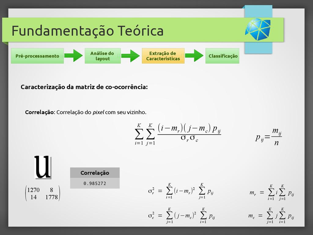 Fundamentação Teórica Correlação: Correlação do...