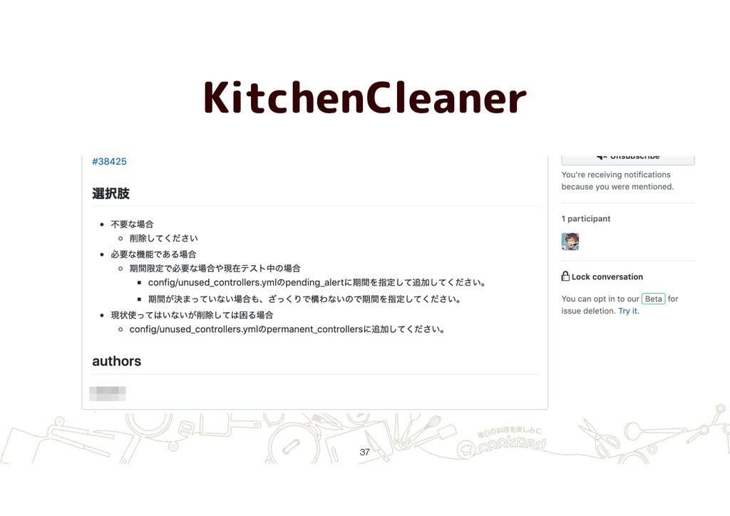 KitchenCleaner !37