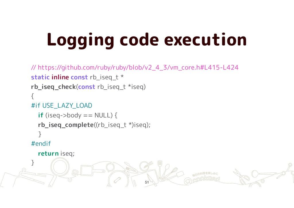 Logging code execution !51 // https://github.co...
