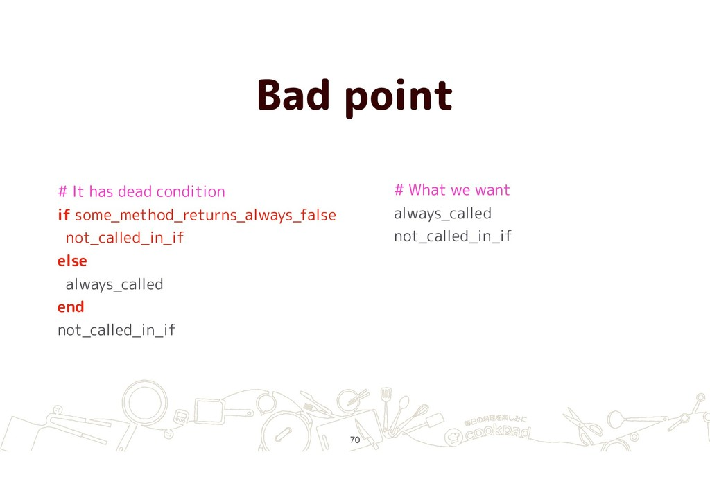 Bad point !70 # It has dead condition if some_m...