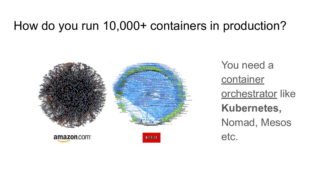 How do you run 10,000+ containers in production...