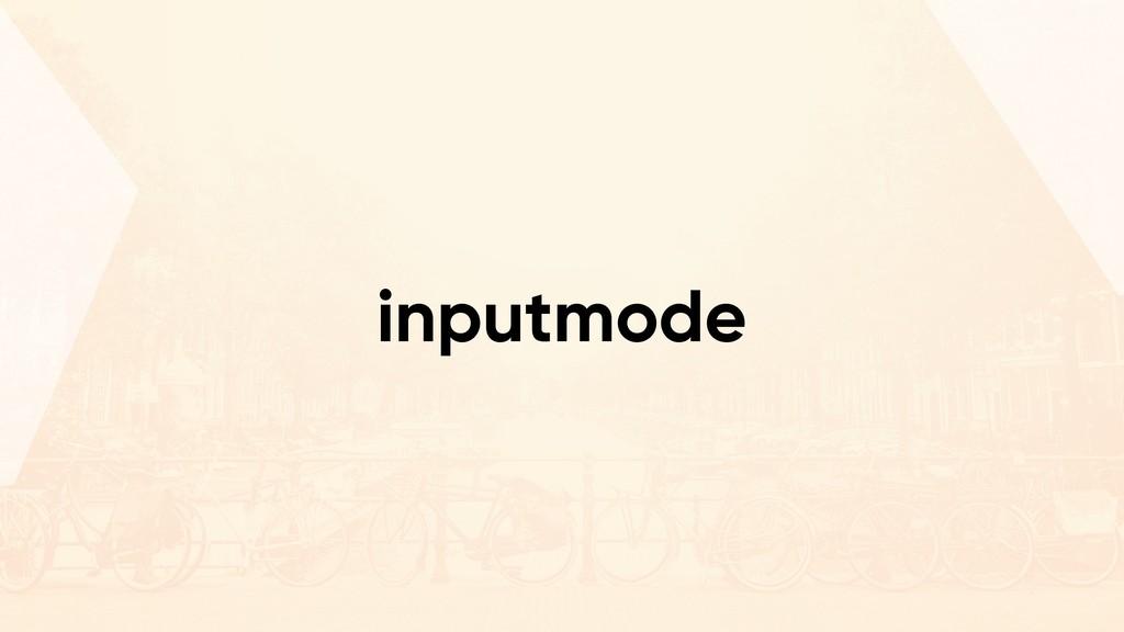 inputmode