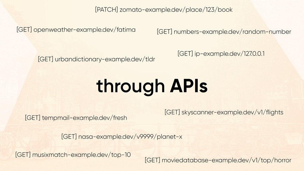 through APIs [GET] skyscanner-example.dev/v1/fli...