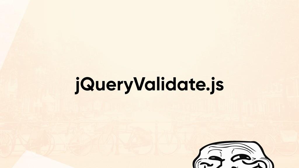 jQueryValidate.js
