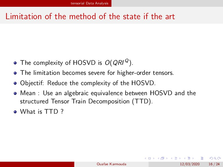 Method of the sate of the art: A Kernel-based F...