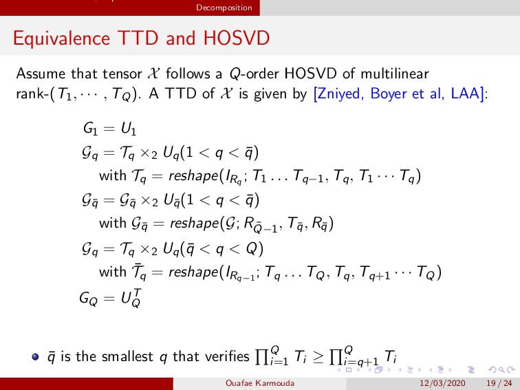 Fast Kernel Subspace Estimation based on Tensor...