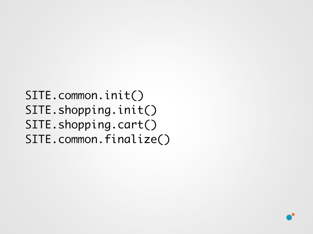 SITE.common.init() SITE.shopping.init() SITE.sh...