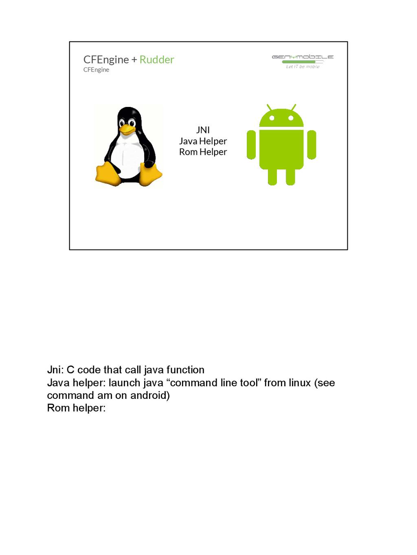 Jni: C code that call java function Java helper...