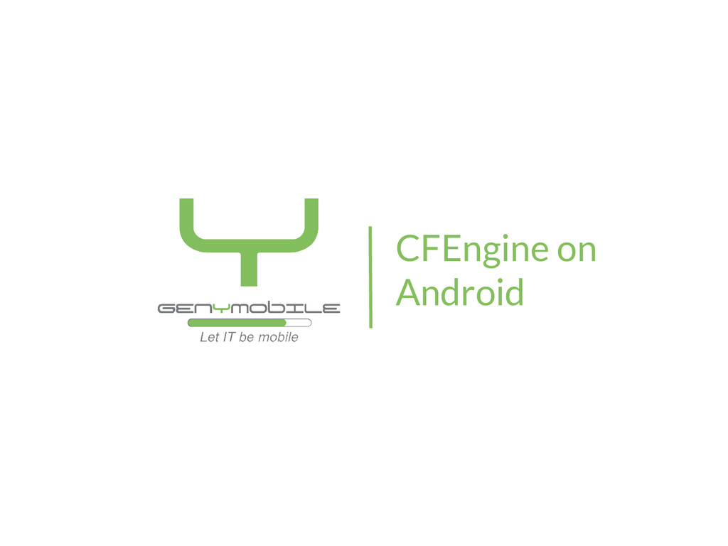 CFEngine on Android
