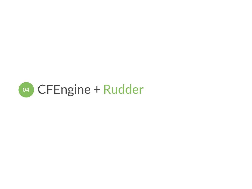 CFEngine + Rudder 04