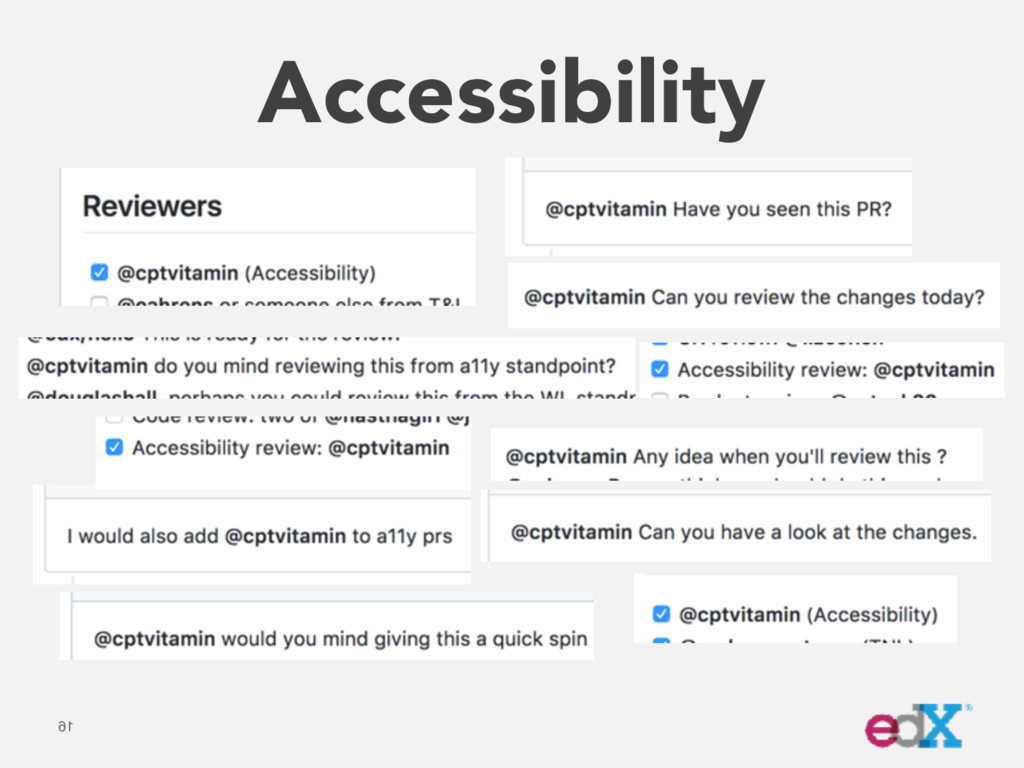 Accessibility 16