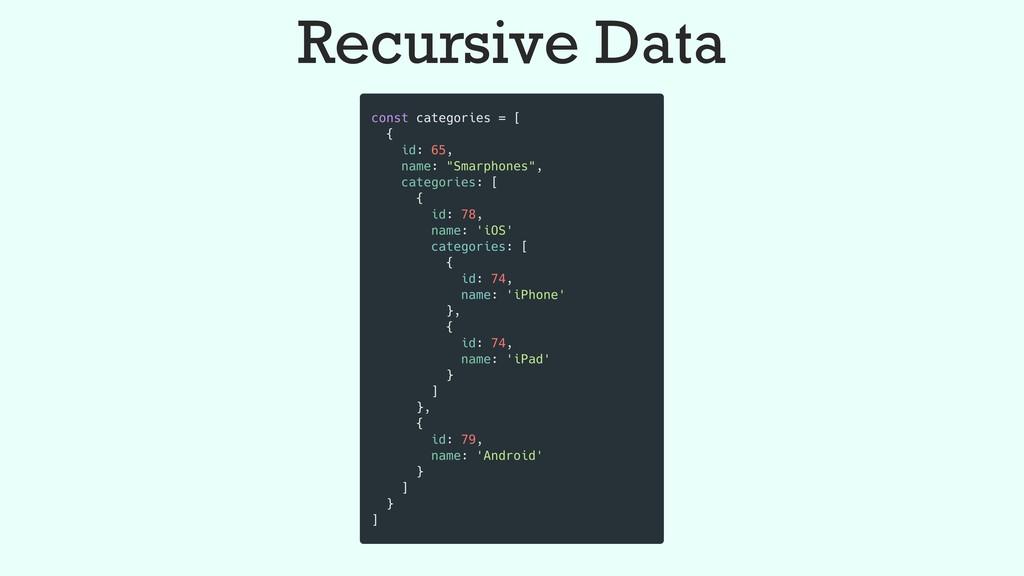 Recursive Data