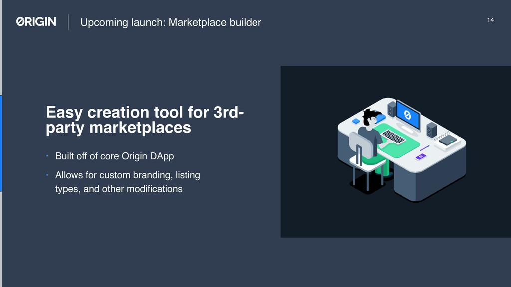 Upcoming launch: Marketplace builder • Built of...