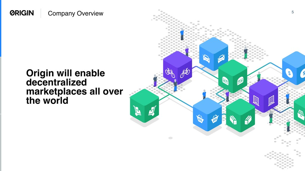 Company Overview 5 Origin will enable decentral...