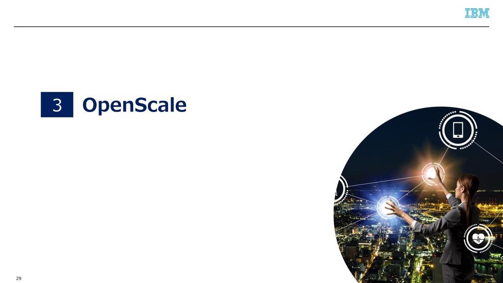 © 2019 IBM Corporation 29 OpenScale 3