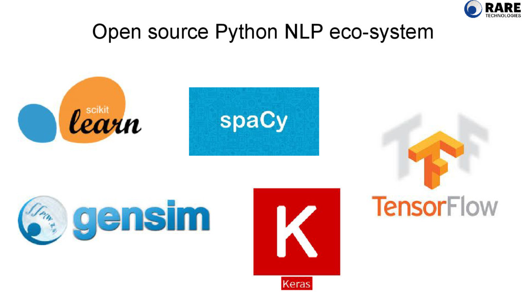 Open source Python NLP eco-system