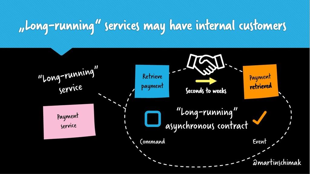 """Long-running"" services may have internal custo..."