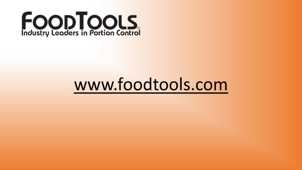 www.foodtools.com