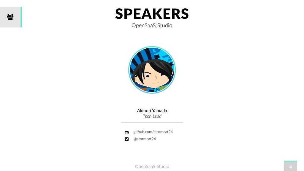 OpenSaaS Studio SPEAKERS OpenSaaS Studio 4 Akin...